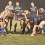 rugby night training