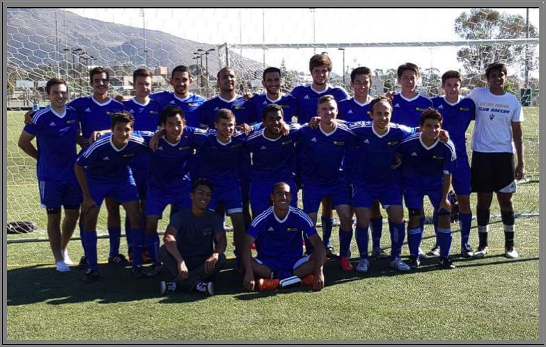 team photo of men's soccer team