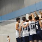 volleyball team high five